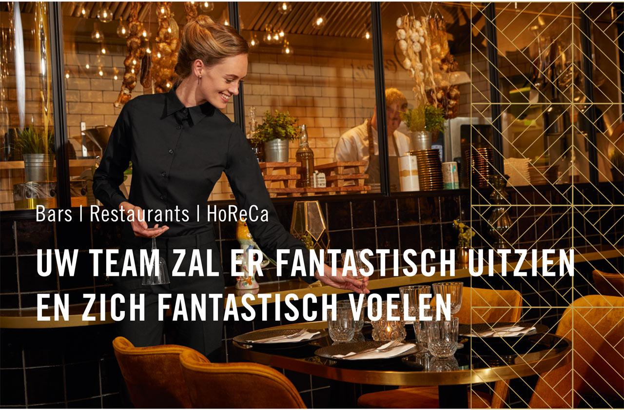 Bar / restaurant / Hospitality - Your team will look & feel fantastic